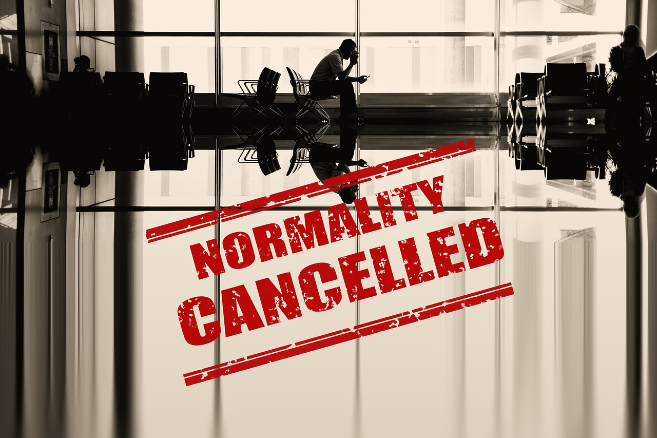 Airport Cancelled Wait Normality  - geralt / Pixabay
