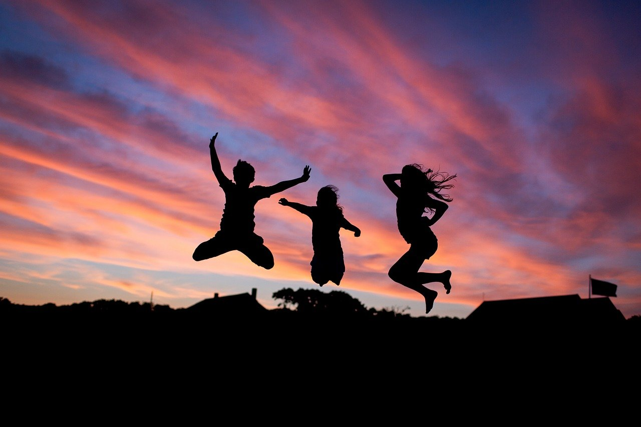 People Jumping Happiness Happy Fun  - fancycrave1 / Pixabay